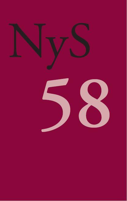 Se Nr. 58 (2020): NyS 58